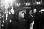 Rennes, plusieurs dizaines de personnes se sont rassemblées mercredi 08 février 2017 pour dénoncer les violences policières, après le viol présumé de Théo à Aulnay-sous-Bois.